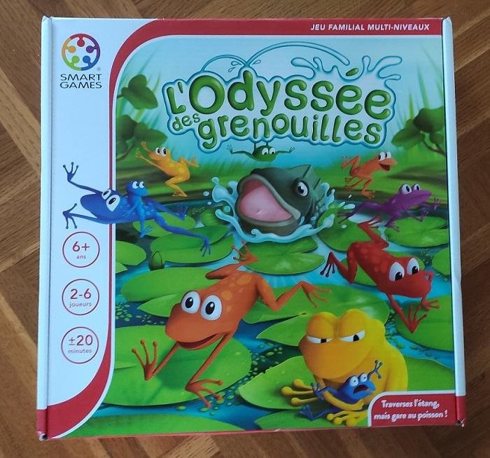 Odyssée des grenouilles