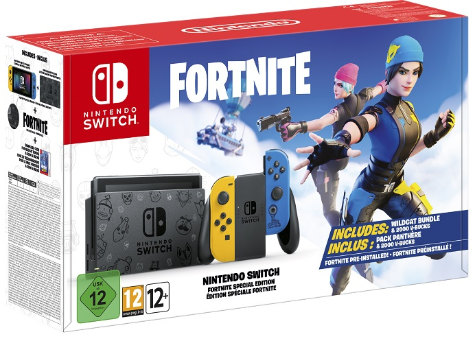 pack Nintendo Switch Edition spéciale Fortnite