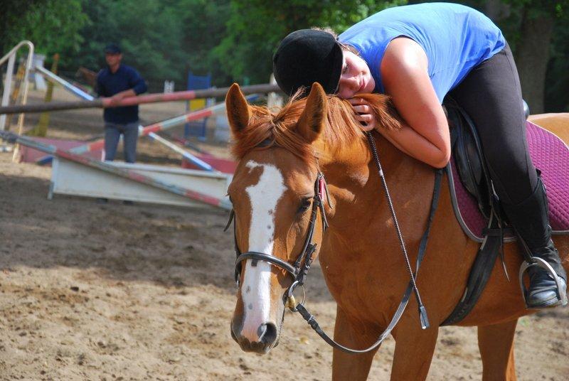 pratiquer l'équitation
