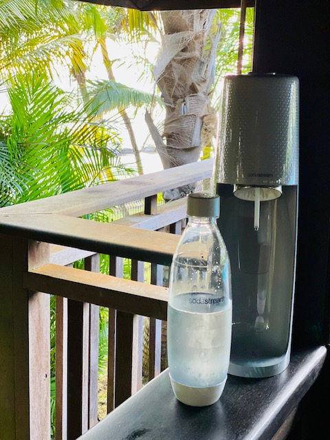 eau pétillante